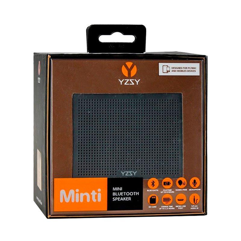 Altavoz Bluetooth Rectangular Metal YZSY Minti Black