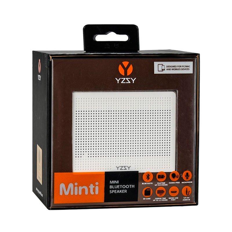 Altavoz Bluetooth Rectangular Metal YZSY Minti Gold
