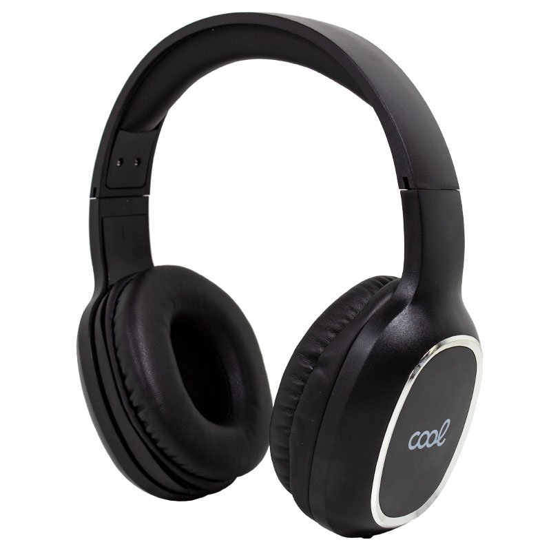 Auriculares Stereo Bluetooth Cascos COOL Arizona Negro
