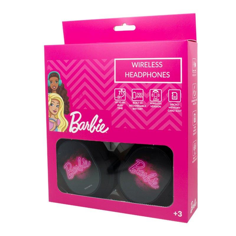 Auriculares Stereo Bluetooth Cascos Licencia Oficial Barbie