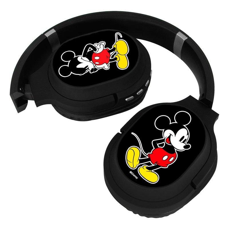 Auriculares Stereo Bluetooth Cascos Licencia Oficial Disney Mickey