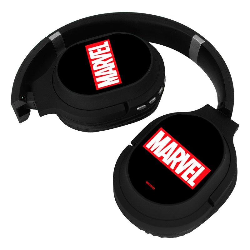 Auriculares Stereo Bluetooth Cascos Licencia Oficial Marvel