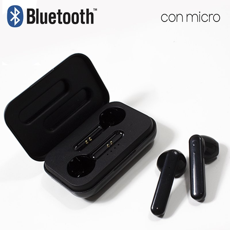 Auriculares Stereo Bluetooth Dual Pod COOL STYLE Negro