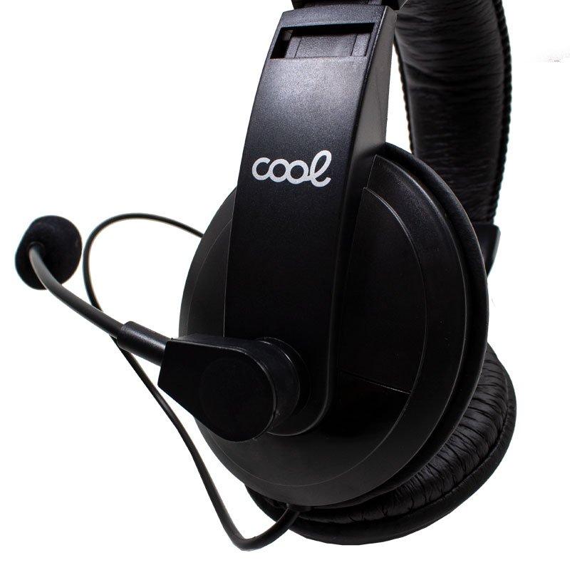 Auriculares Stereo Para PC COOL Montana con micro