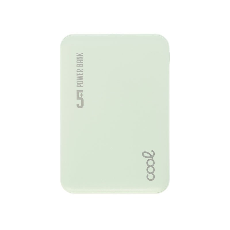 Bateria Externa Micro-usb Power Bank 5000 mAh COOL Leather Verde