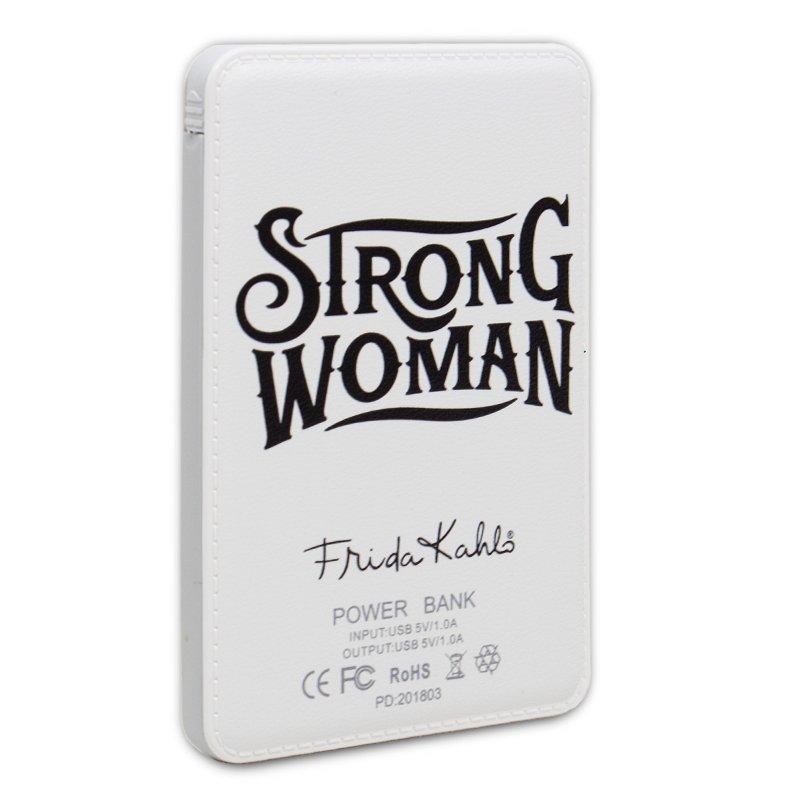 Bateria Externa Micro-usb Power Bank 6000 mAh Licencia Frida Kahlo