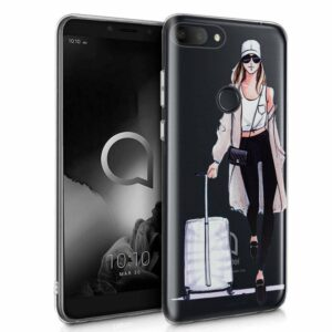 Carcasa Alcatel 1S / 1S (2019) Clear Girl