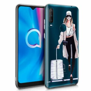 Carcasa Alcatel 1S (2020) / 3L (2020) Clear Girl