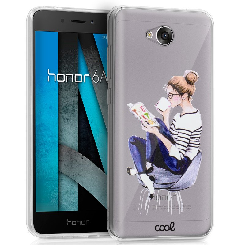 Carcasa Huawei Honor 6A Clear Girl