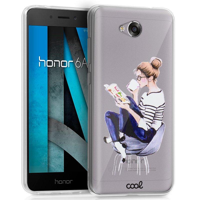 Carcasa Huawei Honor 6A Clear Girl