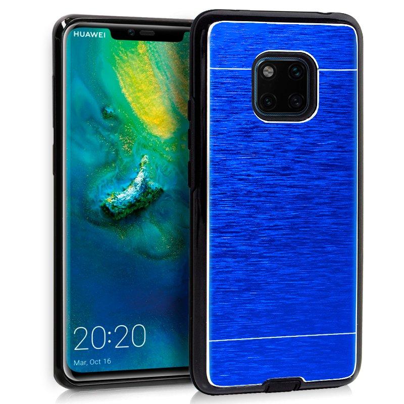 Carcasa Huawei Mate 20 Pro Aluminio Azul