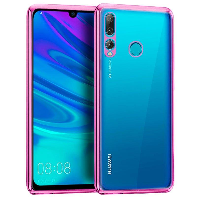 Carcasa Huawei P Smart Plus (2019) / Honor 20 Lite Borde Metalizado (Rosa)