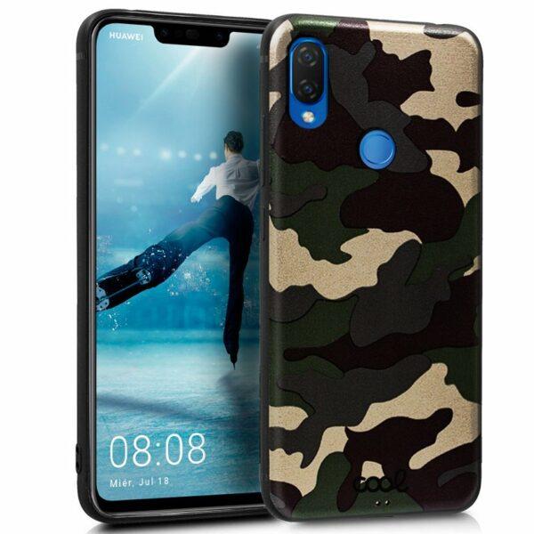 Carcasa Huawei P Smart Plus Dibujos Militar