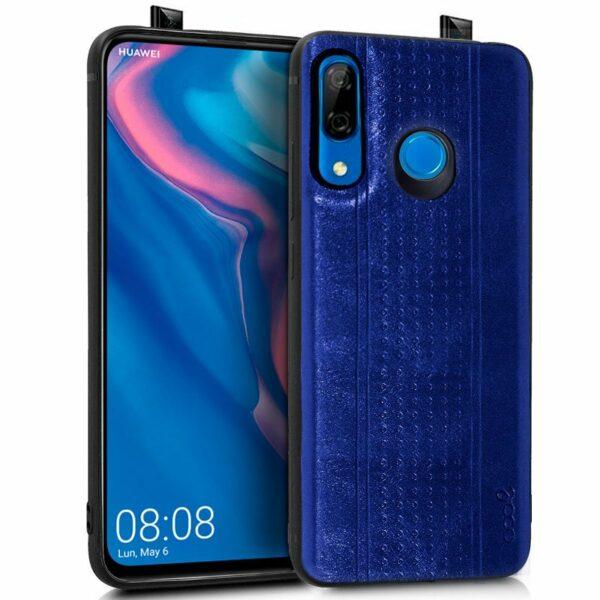 Carcasa Huawei P Smart Z / Honor 9X Leather Piel Azul