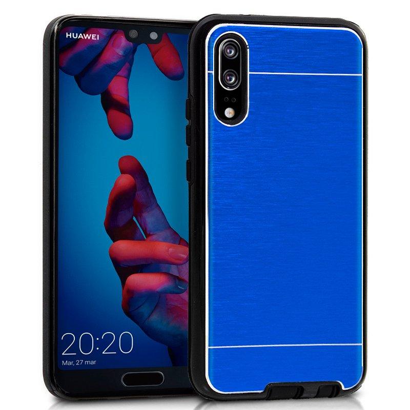 Carcasa Huawei P20 Aluminio Azul