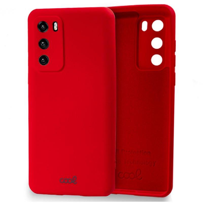 Carcasa Huawei P40 Cover Rojo