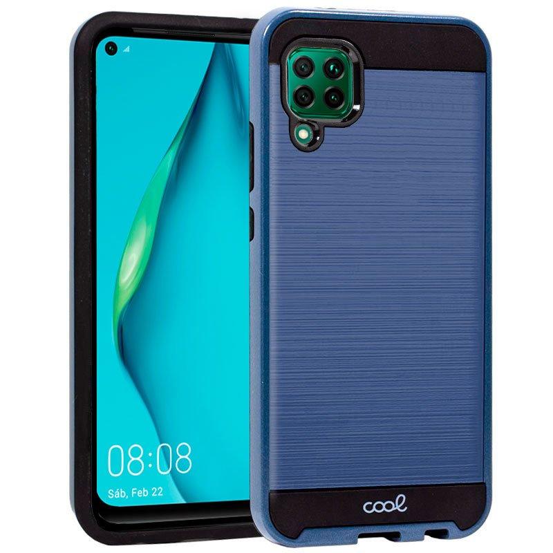 Carcasa Huawei P40 Lite Aluminio Azul