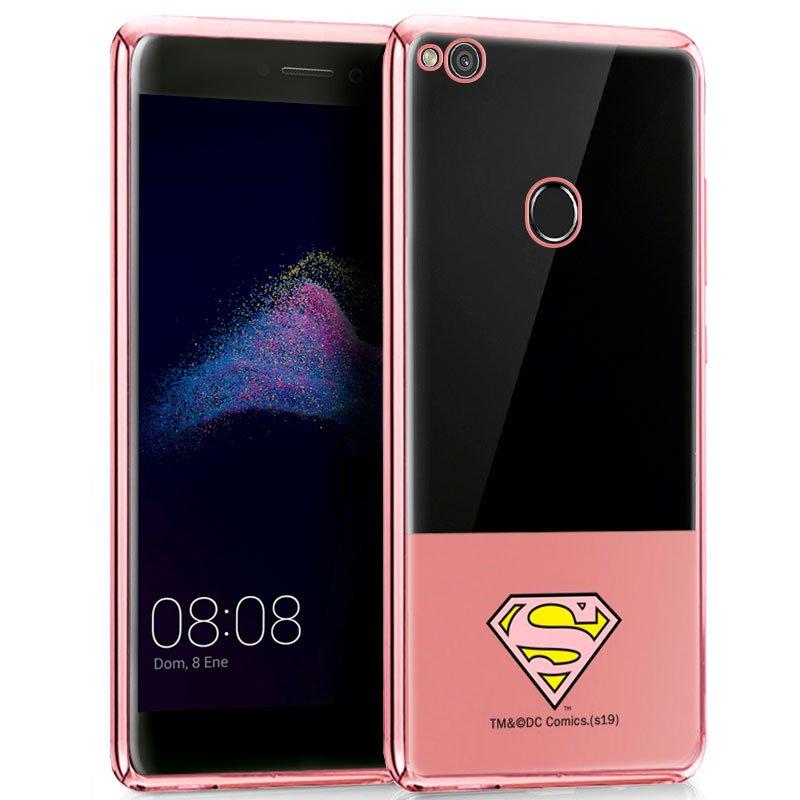 Carcasa Huawei P8 Lite (2017) Licencia DC Borde Superman