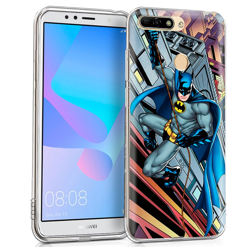 Carcasa Huawei Y6 (2018) / Honor 7A Licencia DC Batman