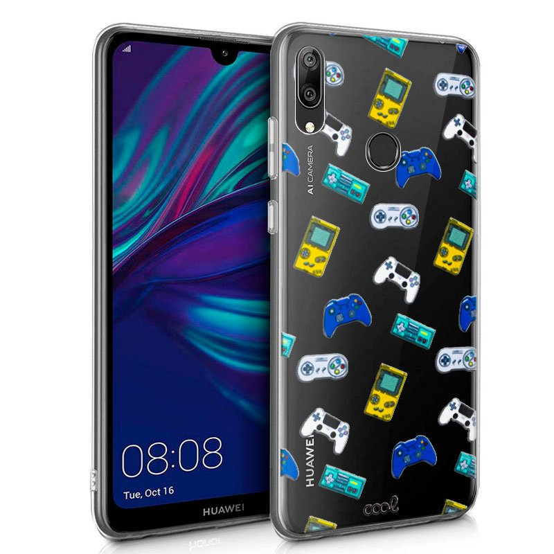 Carcasa Huawei Y7 (2019) Clear Consolas