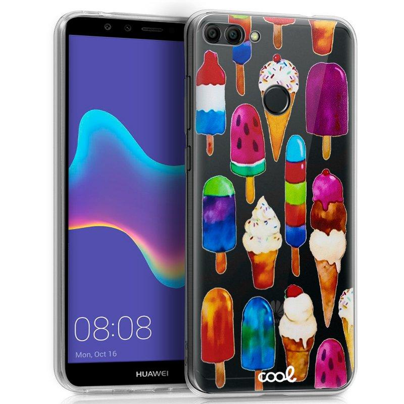 Carcasa Huawei Y9 (2018) Clear Helados