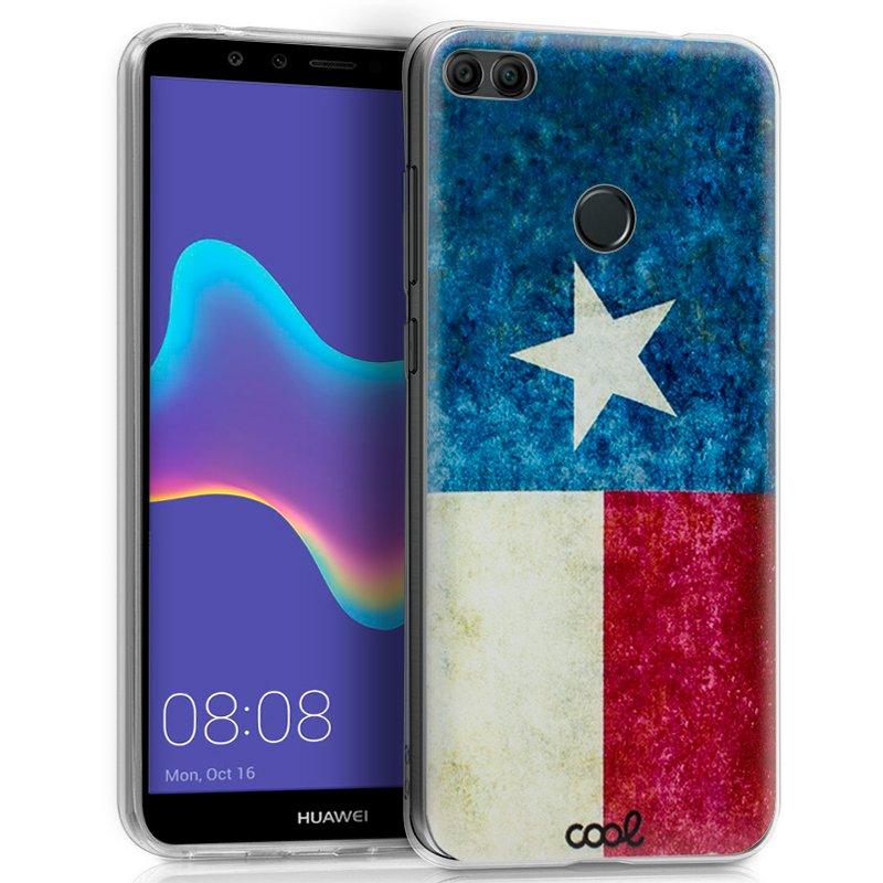 Carcasa Huawei Y9 (2018) Dibujos Texas