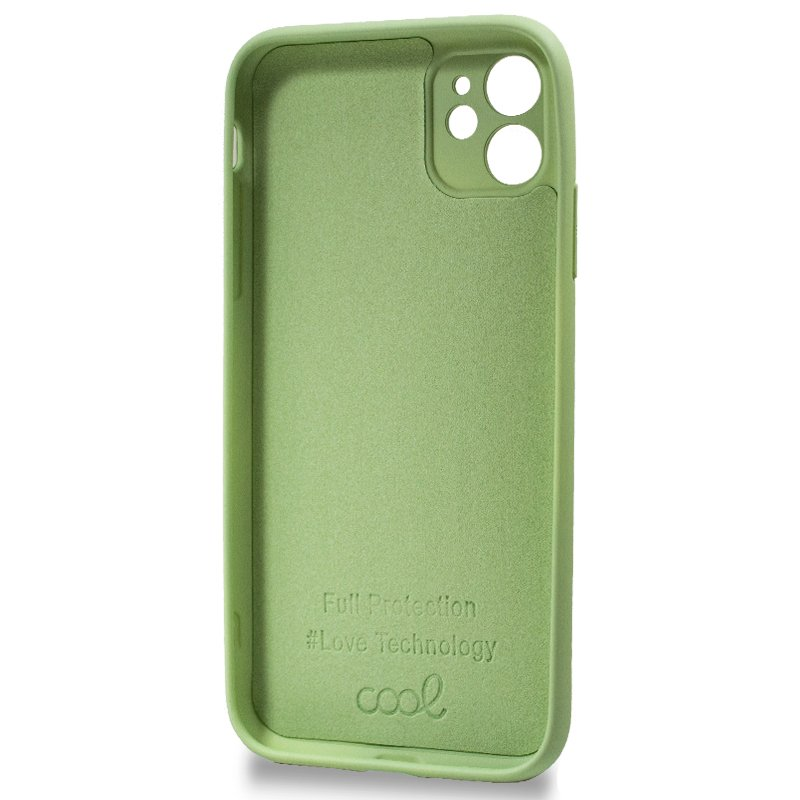Carcasa iPhone 11 Cover Pistacho