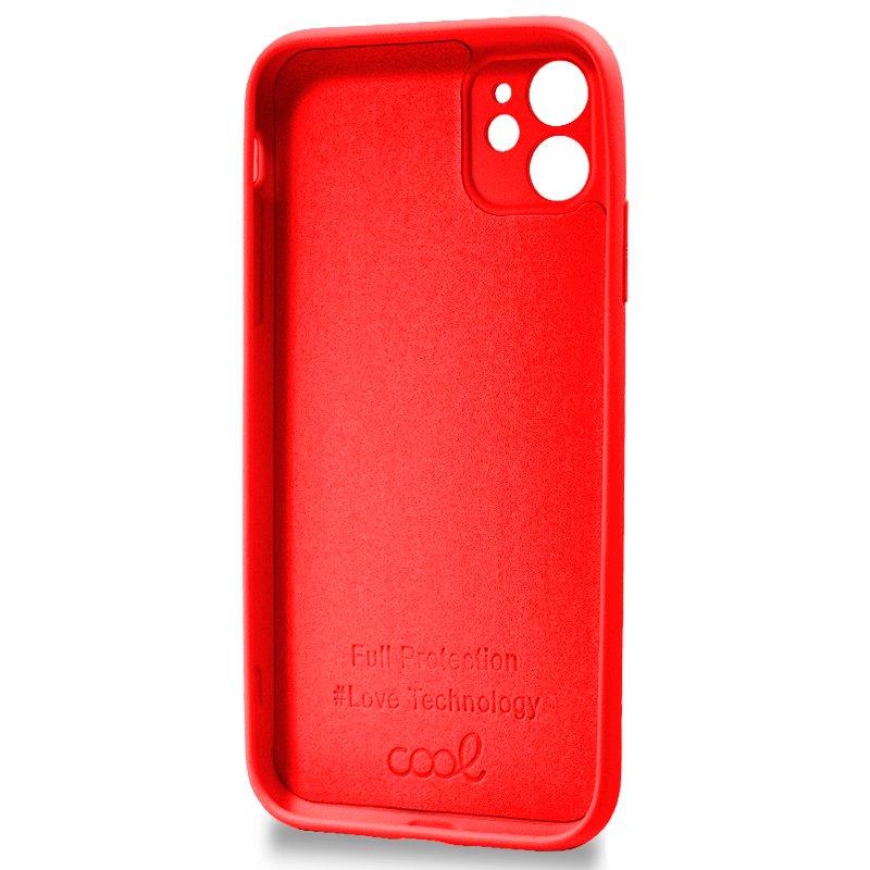 Carcasa iPhone 11 Cover Rojo
