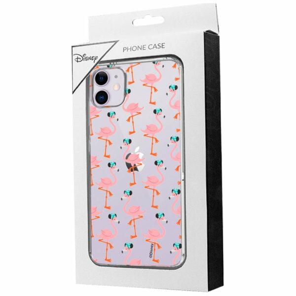 Carcasa IPhone 11 Licencia Disney Minnie Flamencos