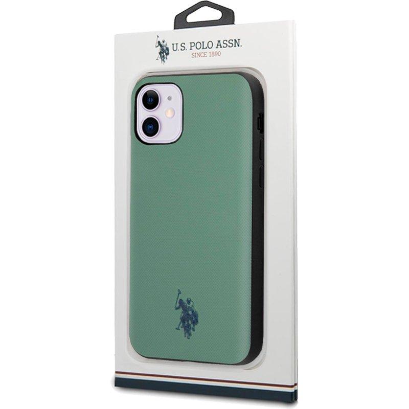 Carcasa iPhone 11 Licencia Polo Ralph Lauren Verde