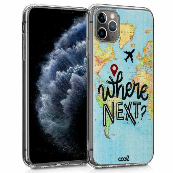 Carcasa iPhone 11 Pro Dibujos Travel