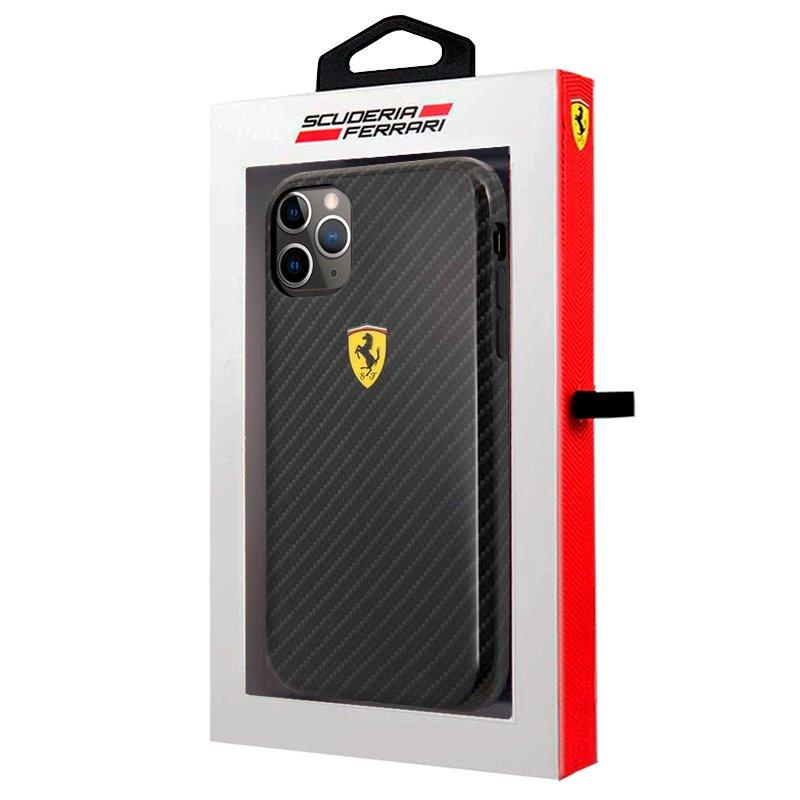 Carcasa iPhone 11 Pro Licencia Ferrari Negro