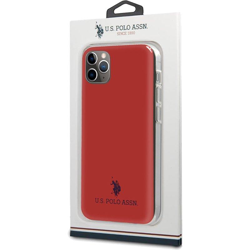 Carcasa iPhone 11 Pro Licencia Polo Ralph Lauren Rojo