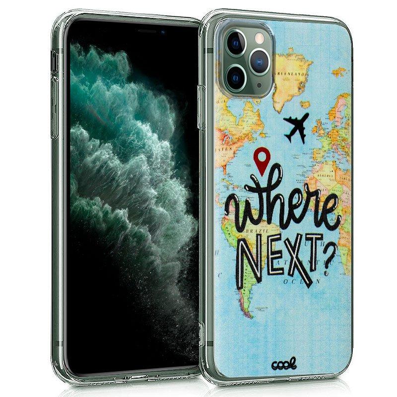 Carcasa iPhone 11 Pro Max Dibujos Travel
