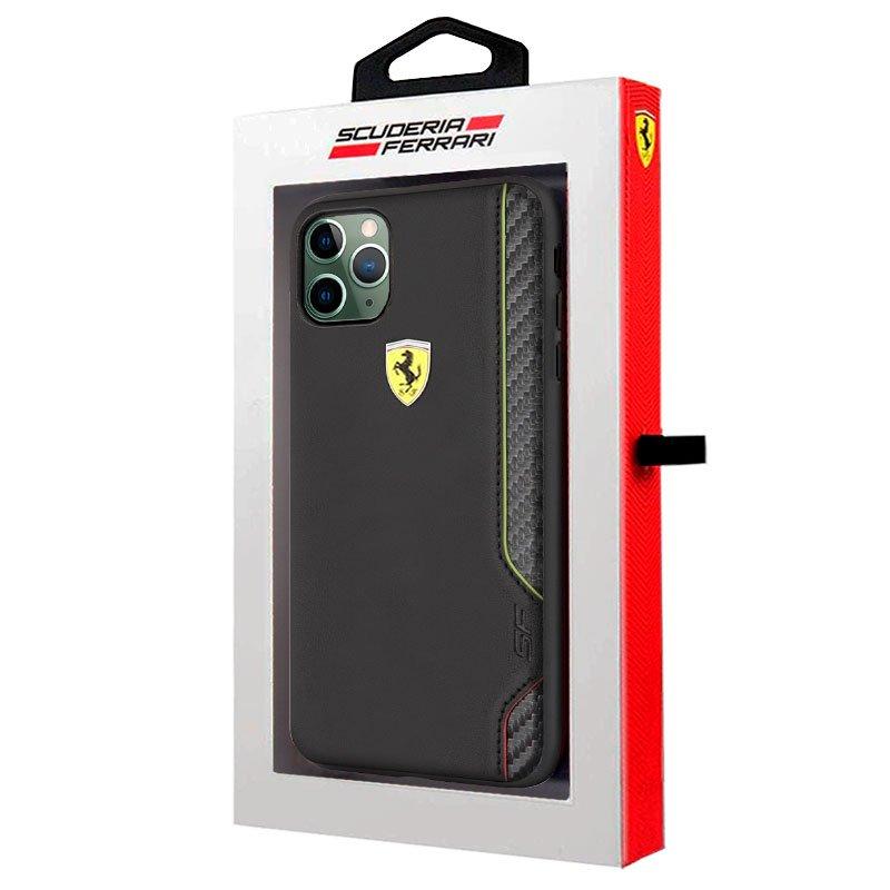 Carcasa iPhone 11 Pro Max Licencia Ferrari Negro