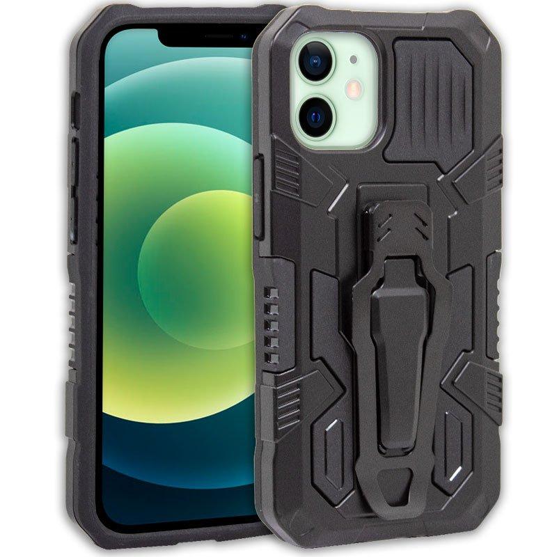 Carcasa iPhone 12 / 12 Pro Hard Clip Negro
