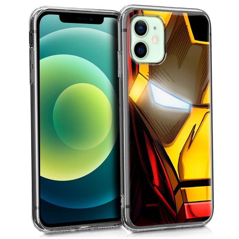 Carcasa iPhone 12 / 12 Pro Licencia Marvel Iron Man