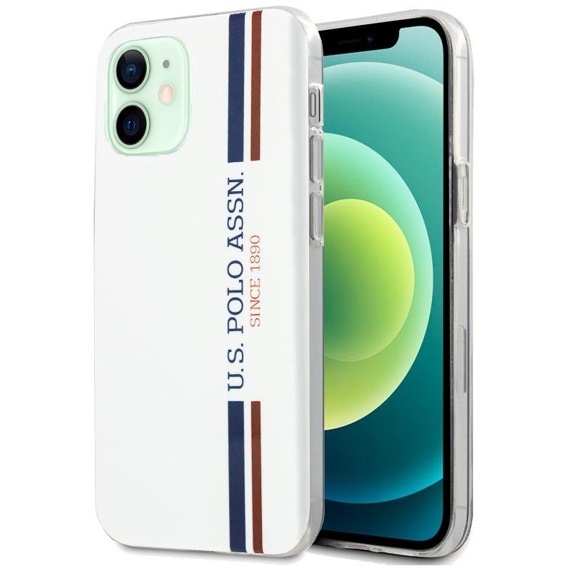 Carcasa iPhone 12 / 12 Pro Licencia Polo Ralph Lauren Blanco