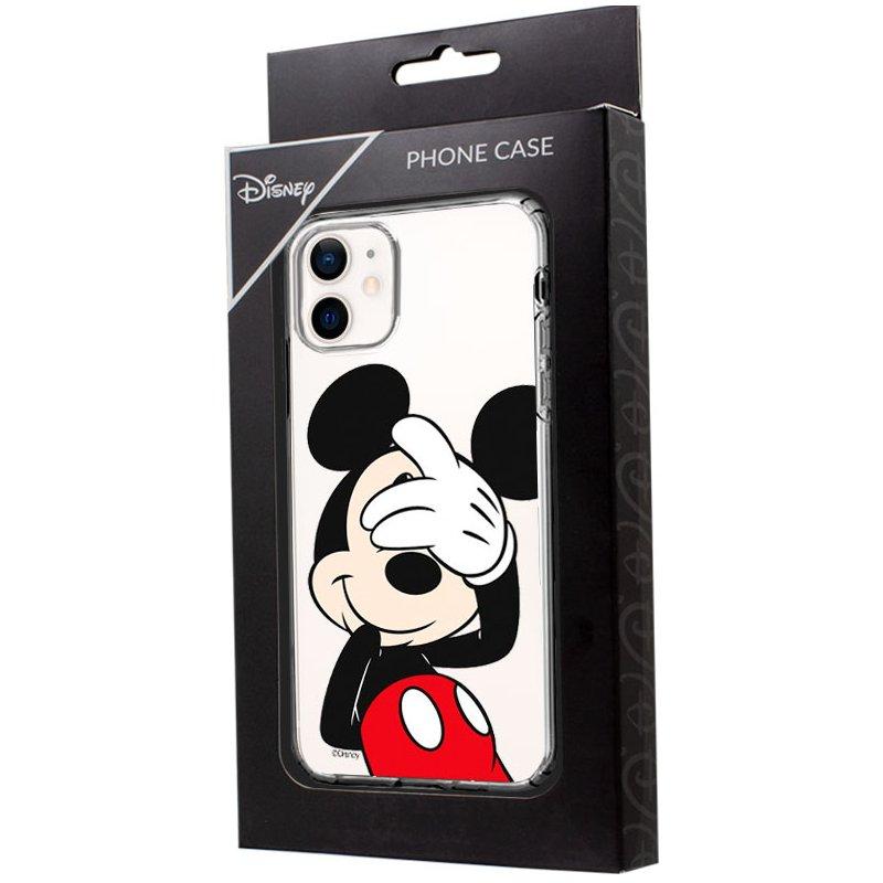 Carcasa IPhone 12 mini Licencia Disney Mickey (Transparente)