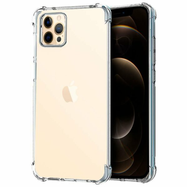 Carcasa iPhone 12 Pro Max AntiShock Transparente