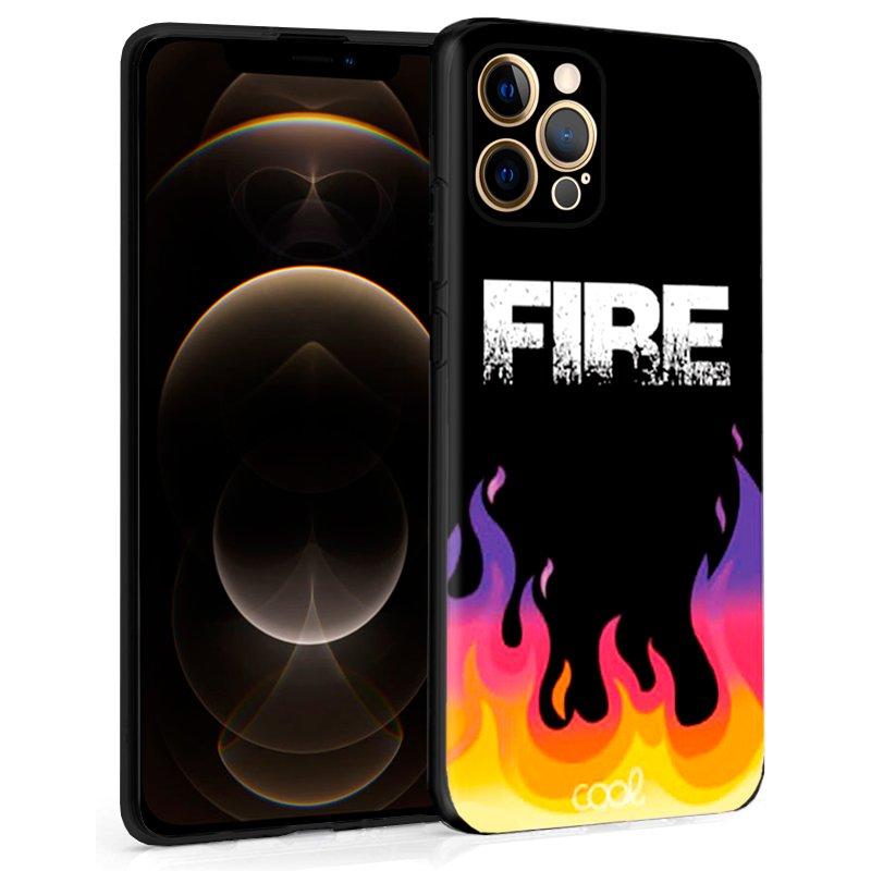 Carcasa iPhone 12 Pro Max Dibujos Fire