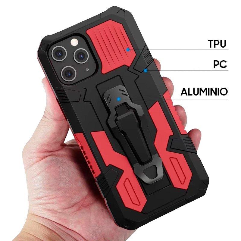 Carcasa iPhone 12 Pro Max Hard Clip Rojo