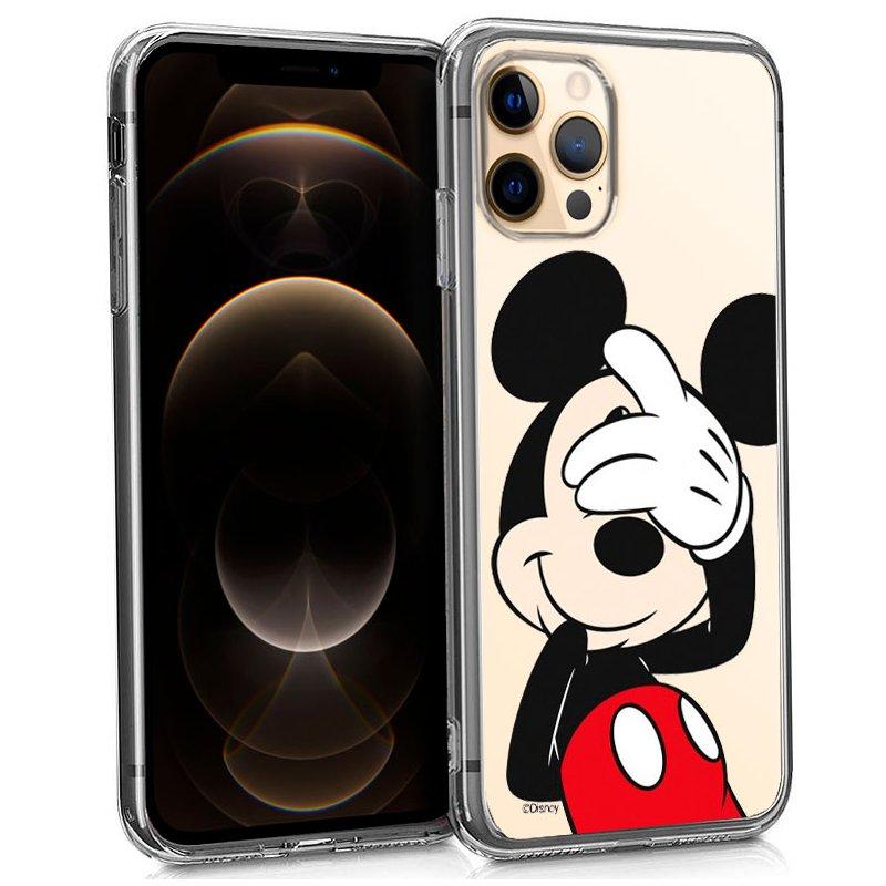 Carcasa iPhone 12 Pro Max Licencia Disney Mickey