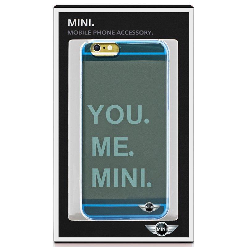 Carcasa iPhone 6 / 6s Licencia Mini Cooper Letras Azul