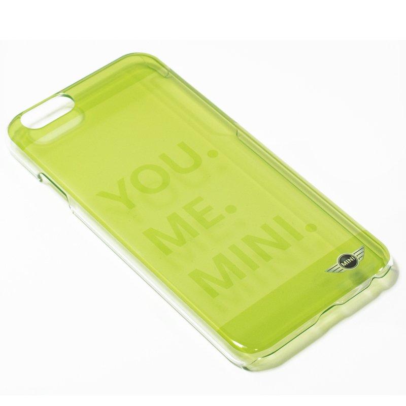 Carcasa iPhone 6 / 6s Licencia Mini Cooper Letras Verde