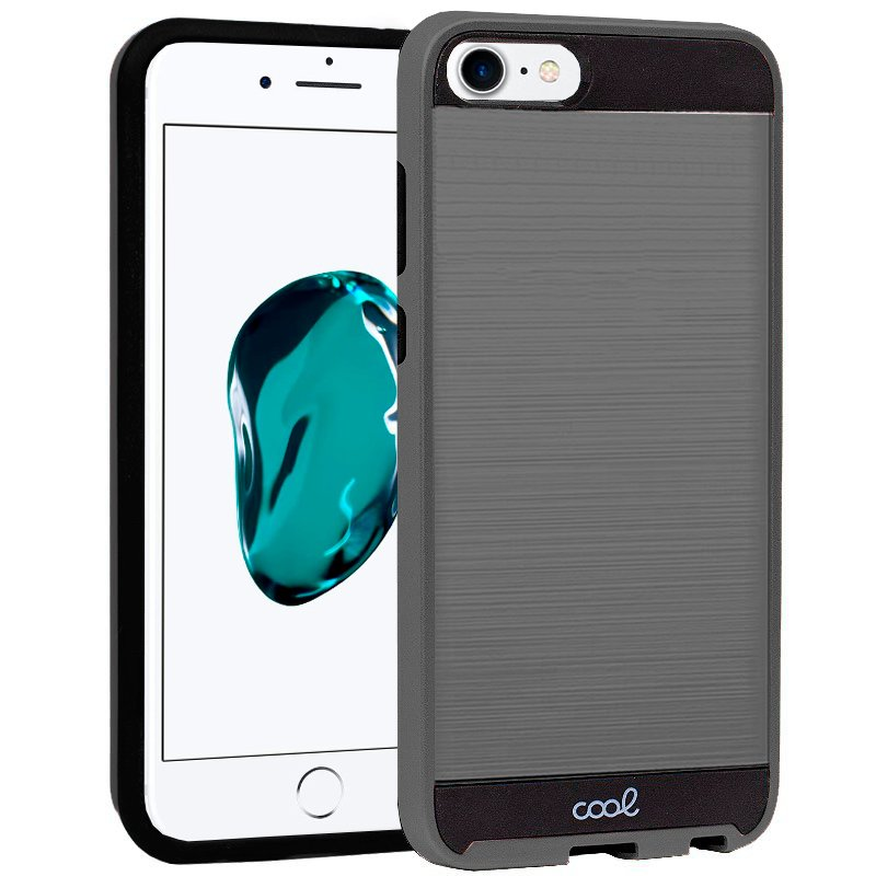 Carcasa iPhone 6 / 7 / 8 / SE (2020) Aluminio Gris