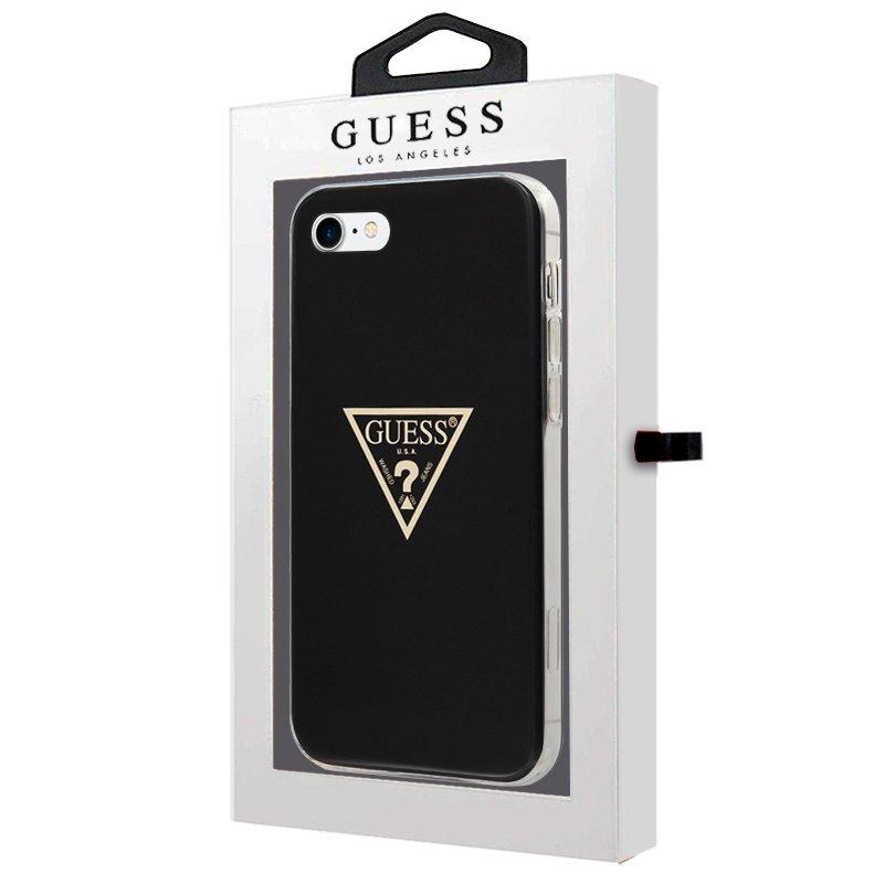 Carcasa iPhone 6 / 7 / 8 / SE (2020) Licencia Guess Negro