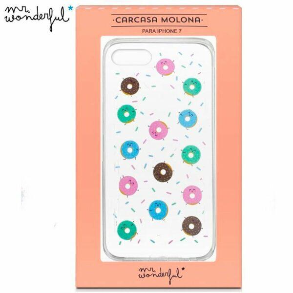 Carcasa iPhone 6 / 7 / 8 / SE (2020) Licencia Mr Wonderful Roscos