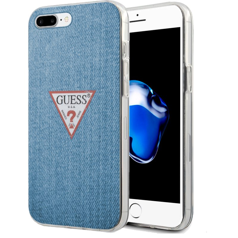 Carcasa iPhone 6 Plus / iPhone 7 Plus / 8 Plus Licencia Guess Jeans