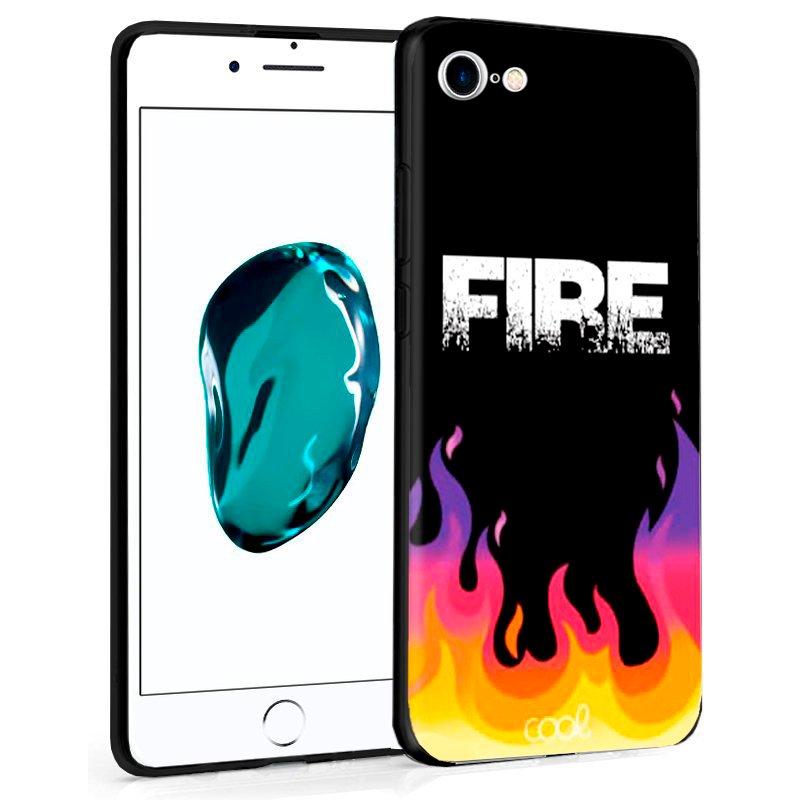 Carcasa iPhone 7 / 8 / SE (2020) Dibujos Fire
